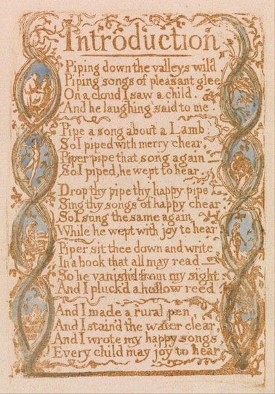 Engraving by William Blake
