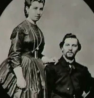 Portrait of Julia and Abraham Staab