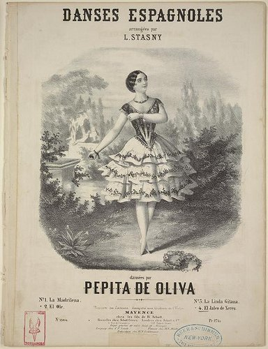 Ad for Pepita's act