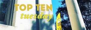 Top Ten Tuesday: Book Festival Wrap-up