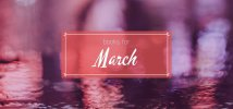 Books for March