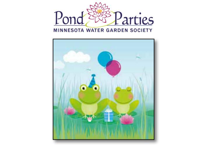 MWGS Pond Parties illustration