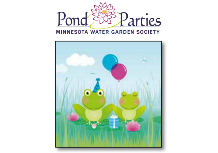 MWGS Pond Parties illustration