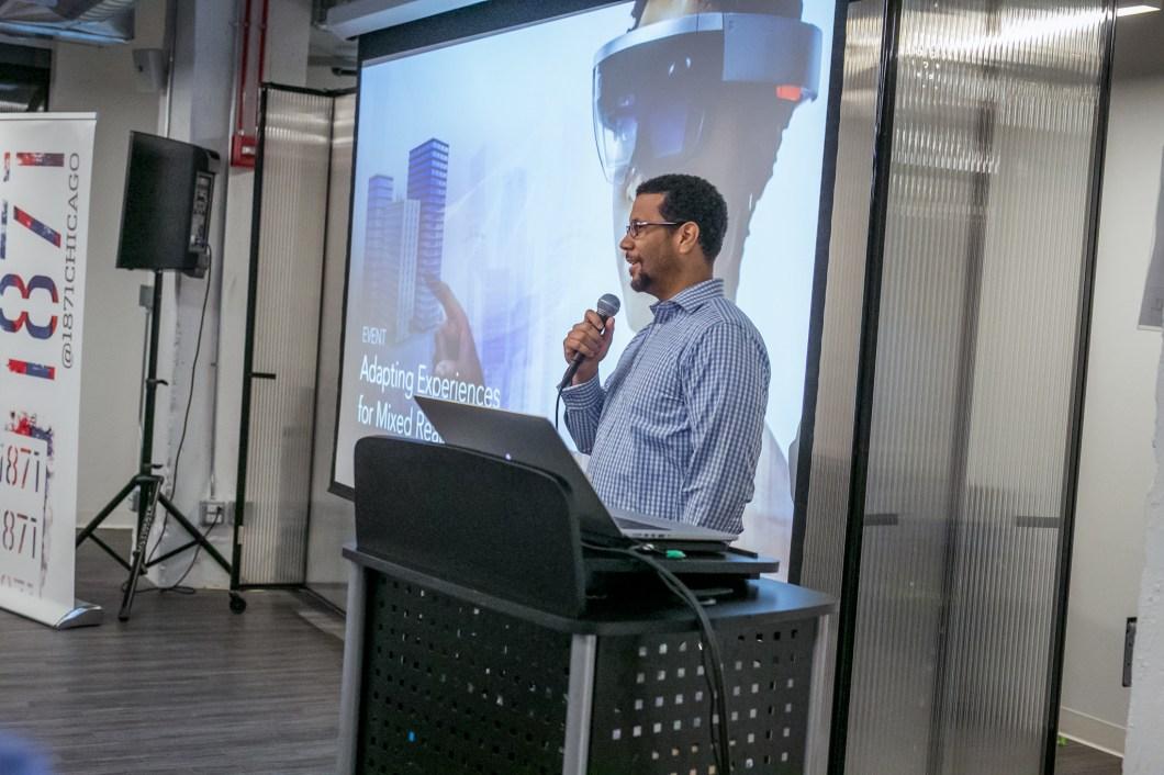 Midwest Immersive Tech Meetup Adam Wisniewski Microsoft HoloLens AR