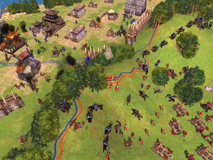Kamera w Empire Earth 2