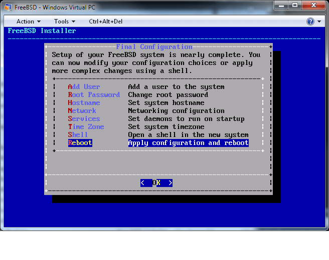 New FreeBSD Installer test and walkthrough | Michael Warren