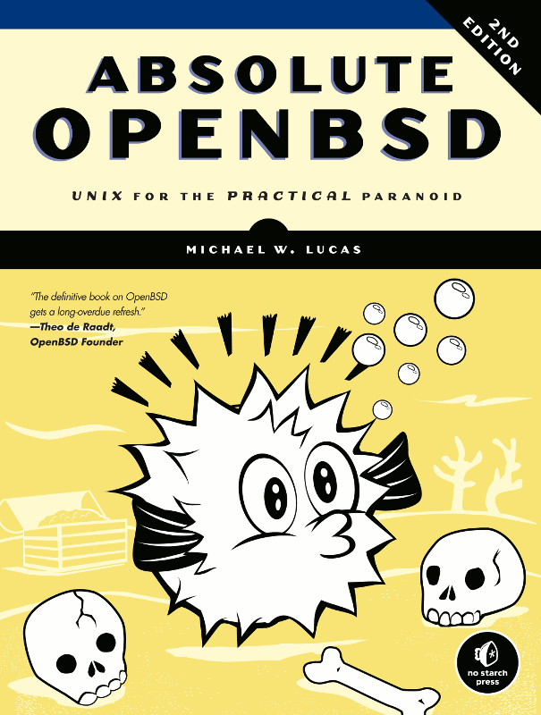 Absolute OpenBSD 2nd Edition cover
