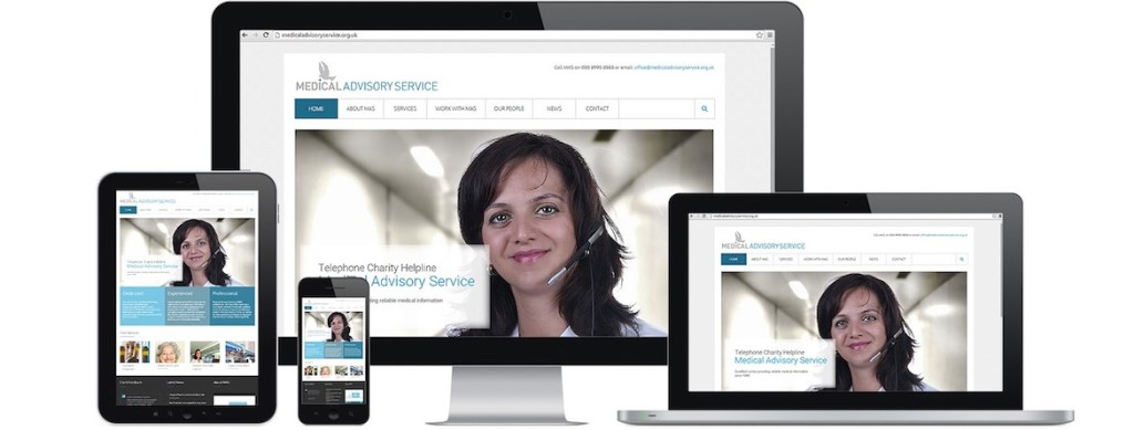 Medical Advisory Service Website Portfolio Multiple Devices