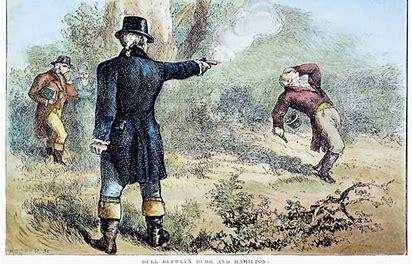 Burr vs. Hamilton Duel