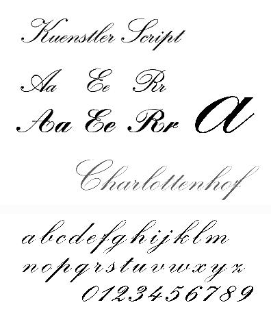 klasyfikacja krojów pisma Pisanka