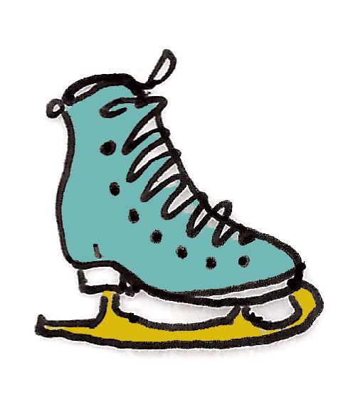 sonja skate, m wood