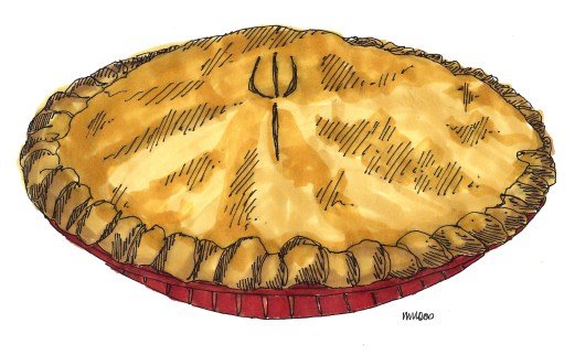 m wood apple pie