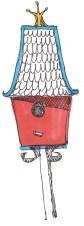 new m wood birdhouses