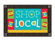 """Local Shopping Bag"" MatMate by Holli Conger SKU: 11185D"