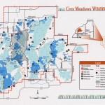 Crex Meadows Map
