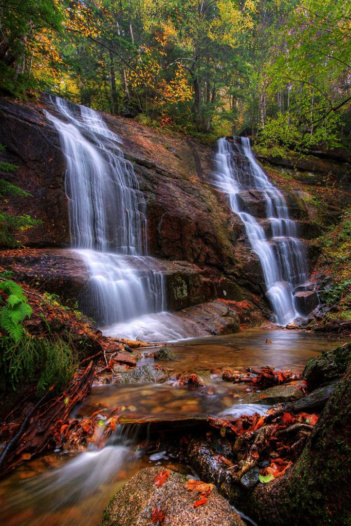 Bridesmaid Falls, Franconia