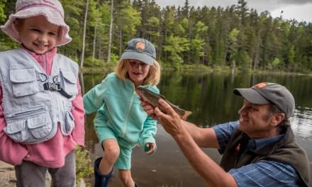 Kid-friendly Fishing on the Kancamagus
