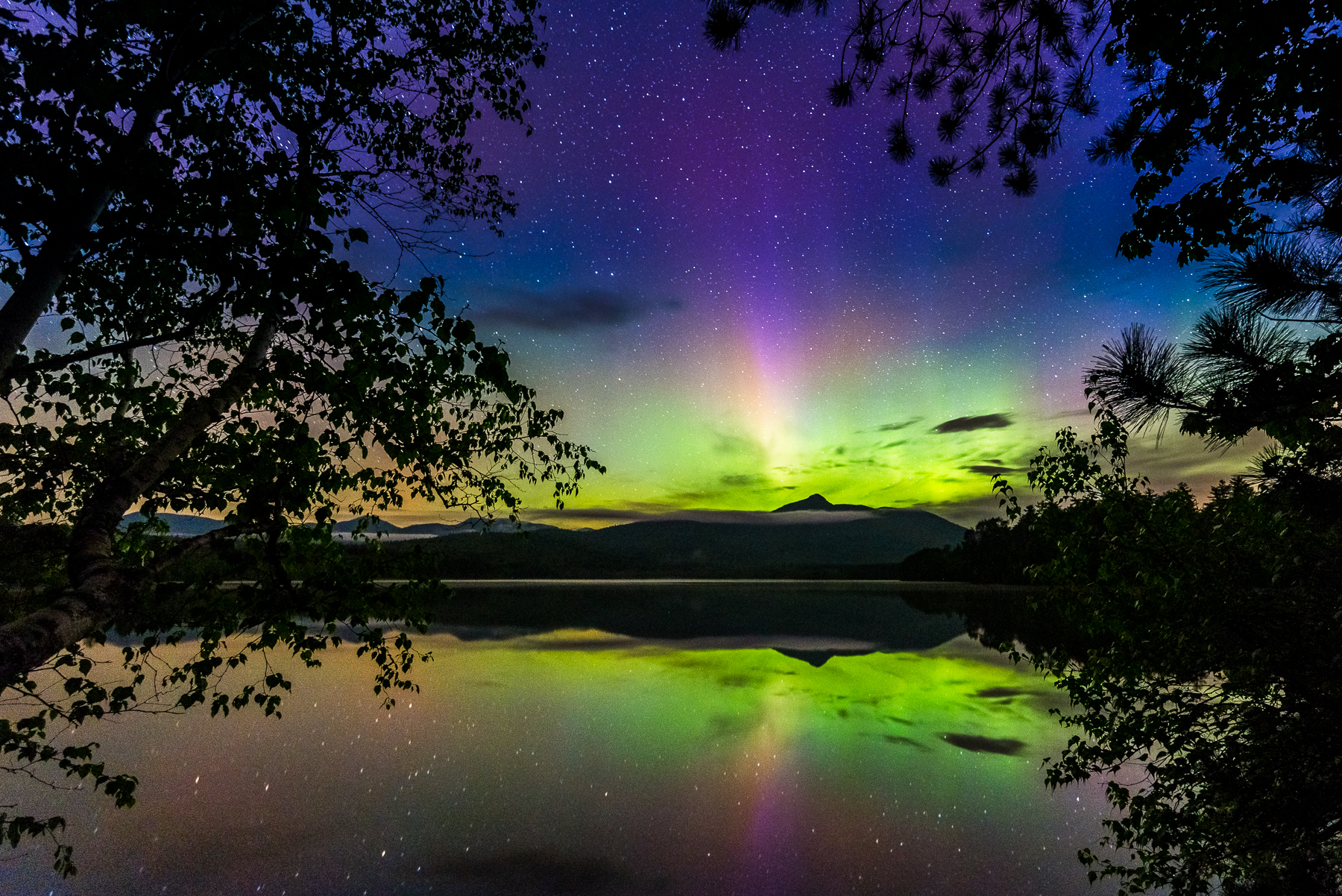 Northern Lights New Hampshire 2017