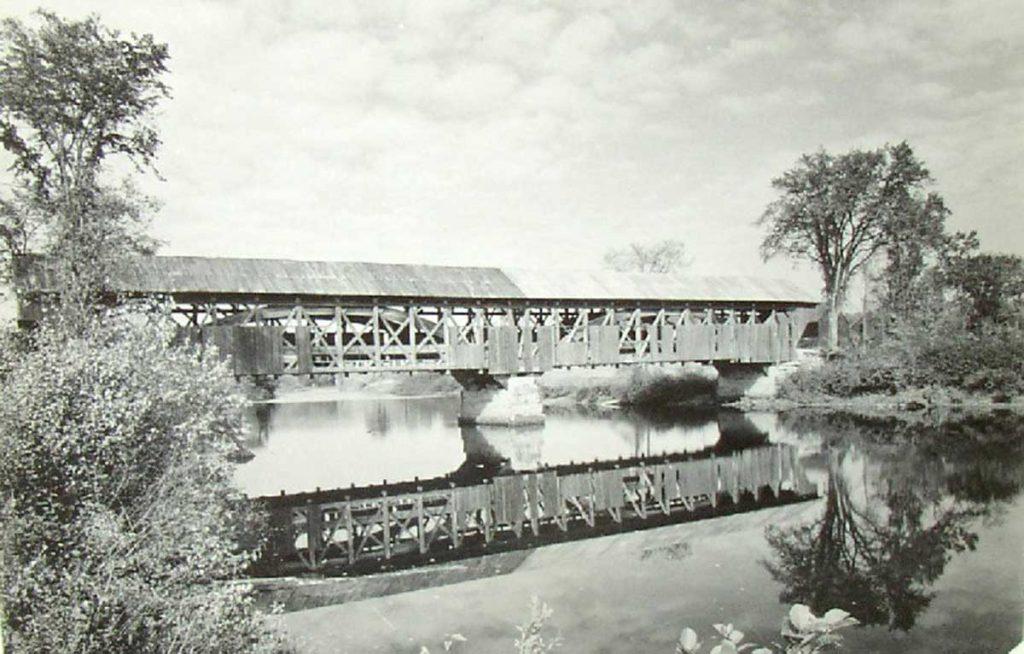 porter-parsonfield covered bridge