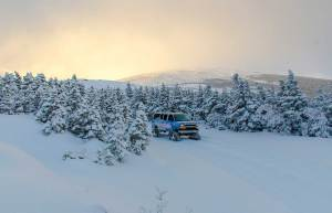 SnowCoach sunrise tours
