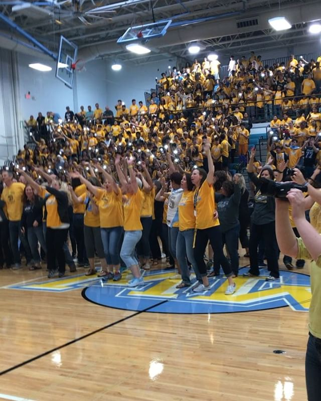 "Staff Unites to Sing ""Sweet Caroline"" at First Assembly"