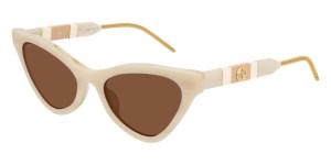 lentes gucci, lentes de sol blancos, lentes de moda para mujer