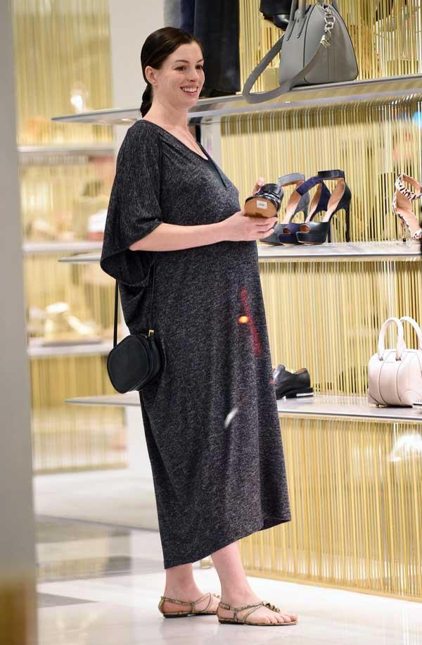 Anne Hathaway Tranquila Y Cmoda En La Recta Final De Su