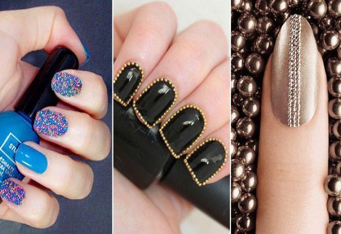 6 Lindos Estilos De Uñas Decoradas Con Textura Magazine De Moda