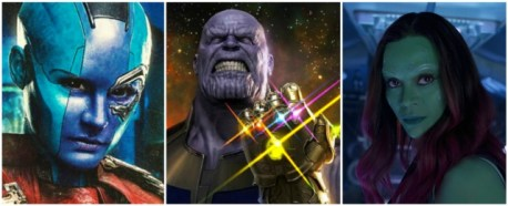 Image result for thanos gamora nebula