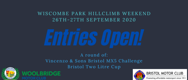 2020 Wiscombe Entries Open