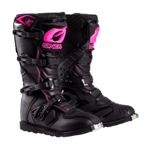 ONEAL YOUTH RIDER BOOT BLACK/PINK KIDS 13