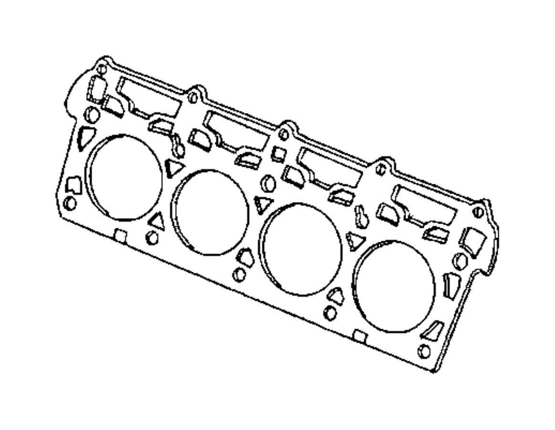 Mopar Left Head Gasket 6 4 Hemi V8