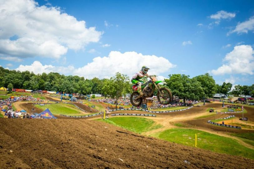 Tomac captured his fifth straight overall win and added to his championship point lead.
