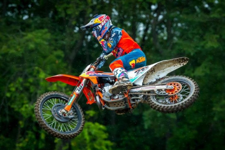 Marvin Musquin claimed his third overall victory (2-1) of the season at Unadilla.
