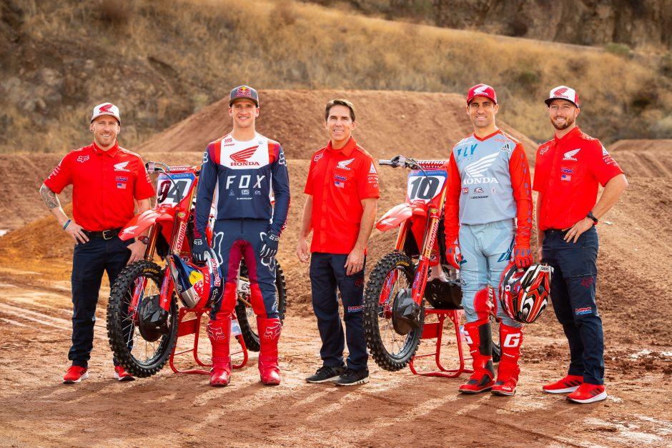 Team Honda Hrc 1