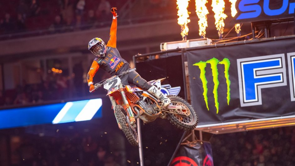 Cooper Webb took his first win of 2021