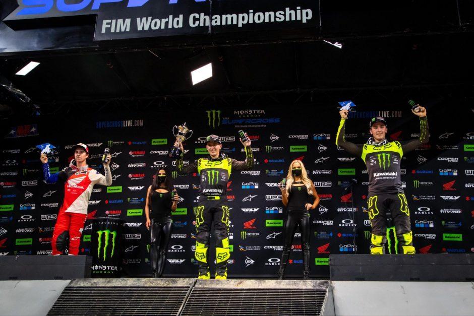 250SX Class podium