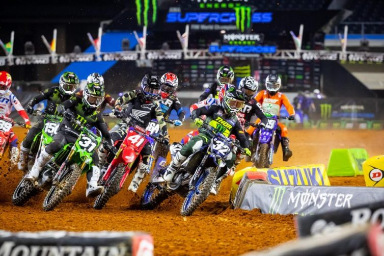 Justin Cooper got the holeshot and was unchallenged