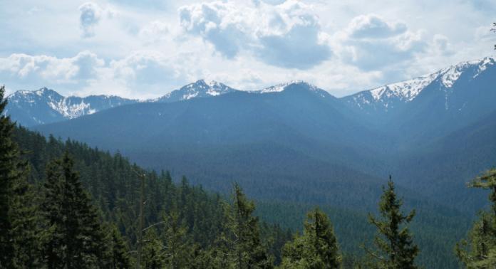 Vista del Ajusco desde C.U.
