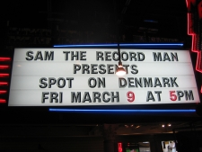 Toronto - gig hos Sam The Record Man