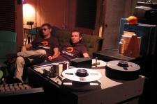 I Nashville - chiller i studiet