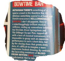 Roserne i Kerrang! (Klik for større udgave).
