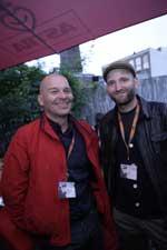 Jesper Nordahl (t.v.) og Michael Pass. (Foto: Sarah Lindbæk)