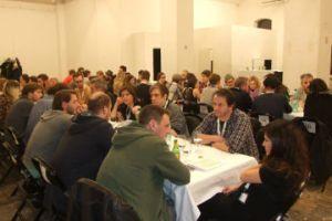 En vellykket netværks-middag for de danske, norske og østrigske branchefolk.
