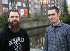 Heartbeat Musics Stefan Facius (t.v.) og Thomas Bredahl: Lang vej endnu, men....