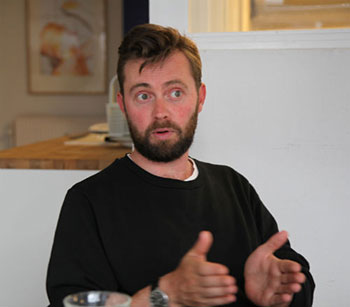 Jesper Majdall: WhoMadeWhos festivalhyre er næsten fordoblet på to år. (Foto: Henrik Friis)