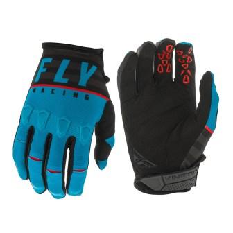 Kinetic K120 Gloves Blue/Black/Red