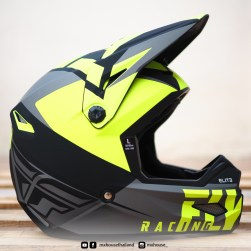 FLY Racing Elite Vigilant Black / Hi-Vis