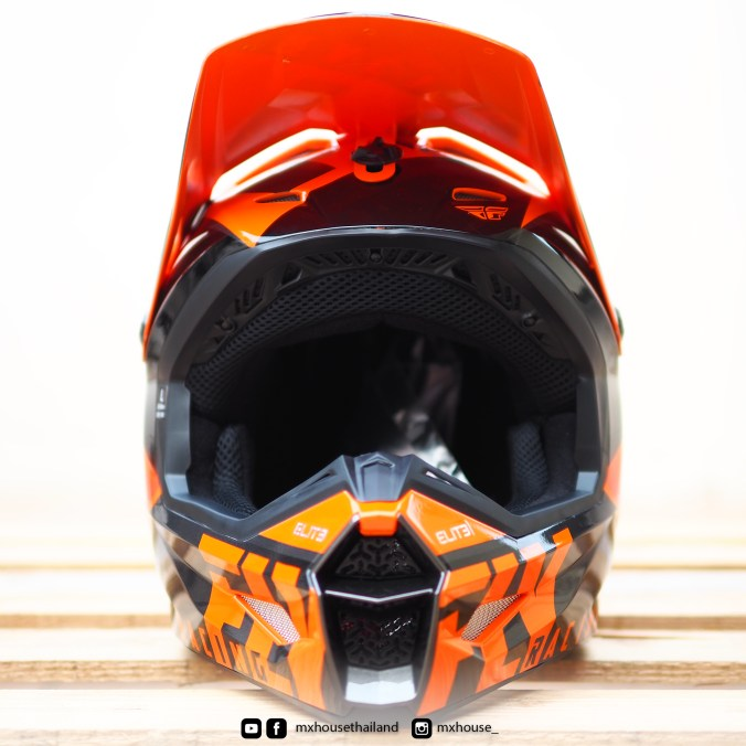 FLY Racing Elite Vigilant Orange / Black