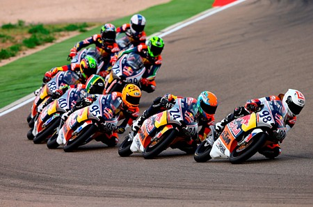 RB MotoGP Rookies Cup_action